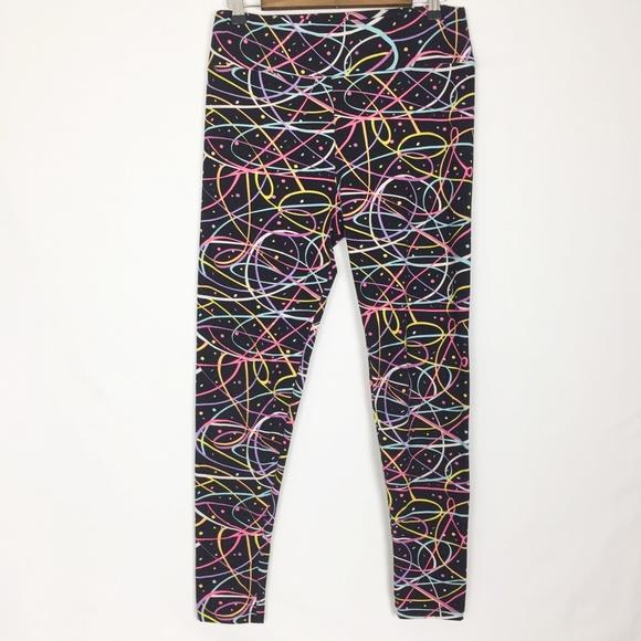 09ad27b47a9463 LuLaRoe Pants - LuLaRoe   Funfetti leggings Size Tall & Curvy